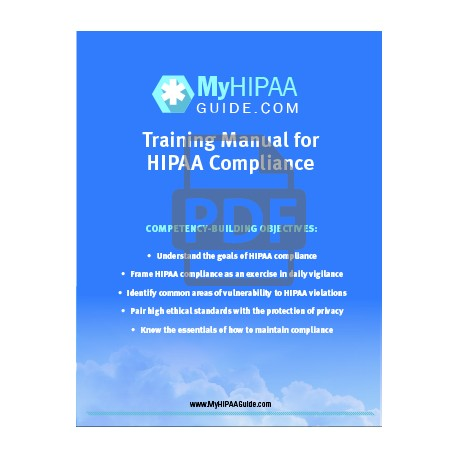 Hipaa Training Manual  Digital